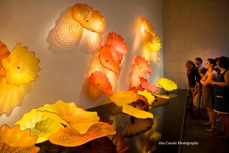 Jim Canole-Chihuly In Boston 1