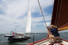 Jim Canole-Setting Sail In Newport 3