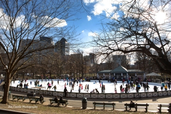 Frog Pond on Boston Common