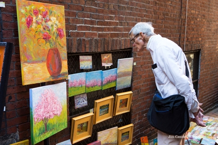 Jim Canole-BeaconHill Art Walk 4