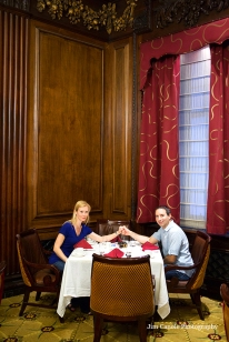 Table in Omni Parker House Hotel at which President Kennedy proposed to Jackie