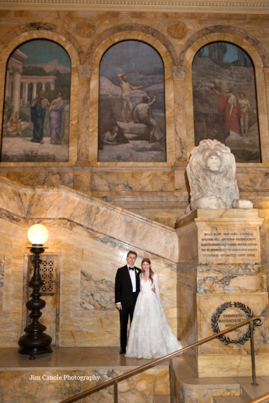 Jim Canole-Boston Public Library Wedding 4