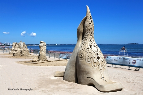 Jim Canole-Sand Sculptures 3
