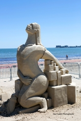 Jim Canole-Sand Sculptures 6