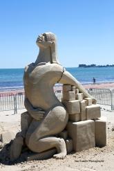Jim Canole-Sand Sculptures 6