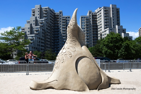 Jim Canole-Sand Sculptures 8