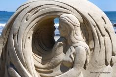 Jim Canole-Sand Sculptures 11